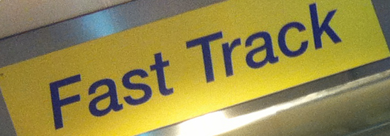 fast track sign